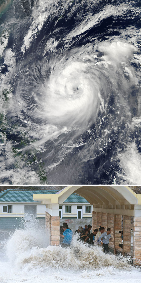 Typhoon Fitow Batters China-1