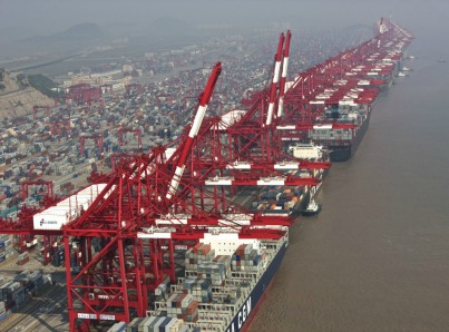 The enormous Port of Shanghai-0