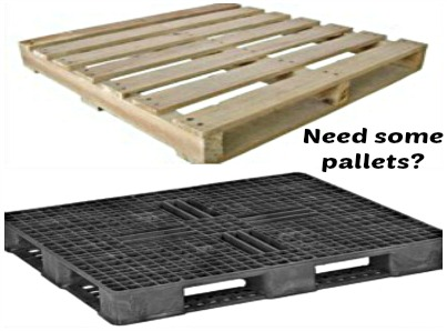 Pallets at the ready-0