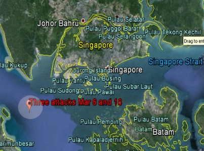Pirate attacks near Singapore-0