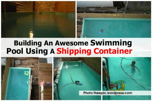 Pool Shipping Container Beach