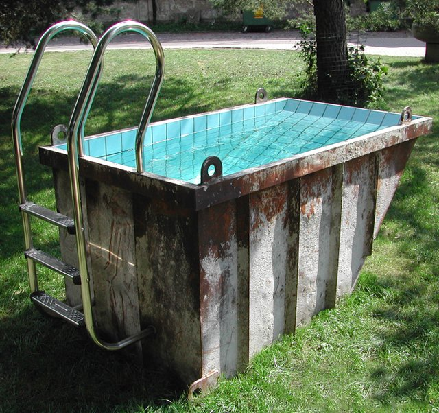 Shipping container pools ees shipping logistics is our for Western pool show 2015