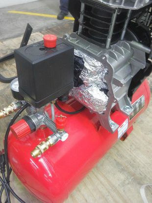 Meth found in imported air compressors-0